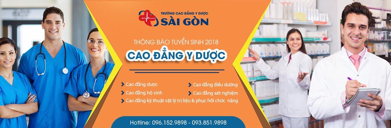 Trường Cao đẳng Y dược Sài Gòn tuyển sinh trên 5 ngành chính 1