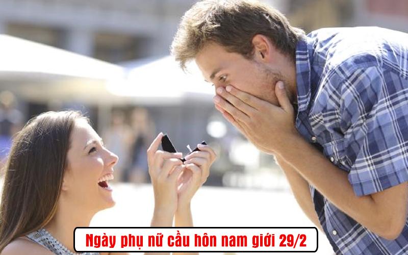 Ngày nam giới được phụ nữ cầu hôn