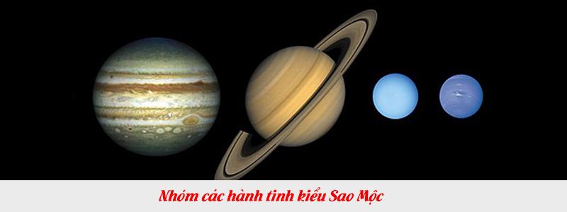 Nhóm các hành tinh kiểu Sao Mộc