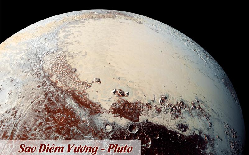 Sao diêm vương - ảnh chụp từ tàu vũ trụ