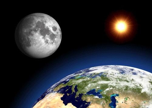 khoảng cách từ trái đất tới mặt trăng