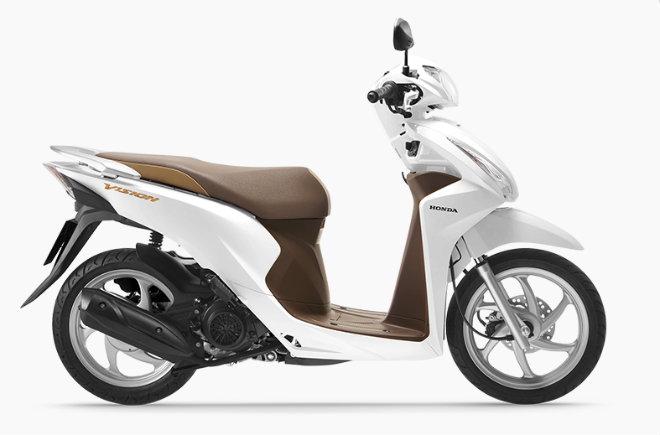 Các loại xe tay ga Honda tại Việt Nam