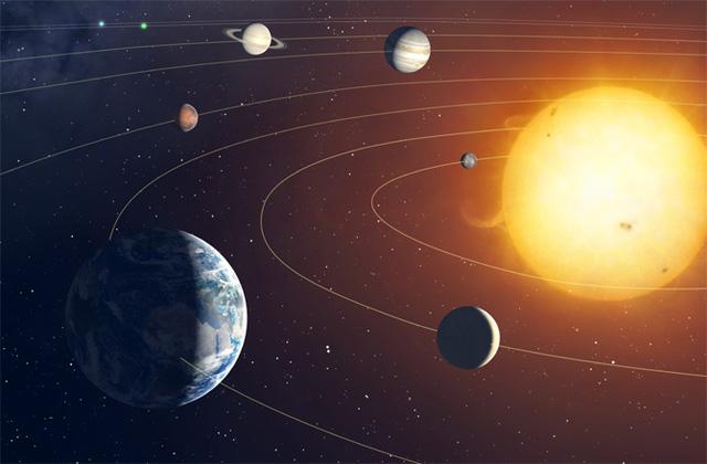 hệ mặt trời gồm bao nhiêu hành tinh