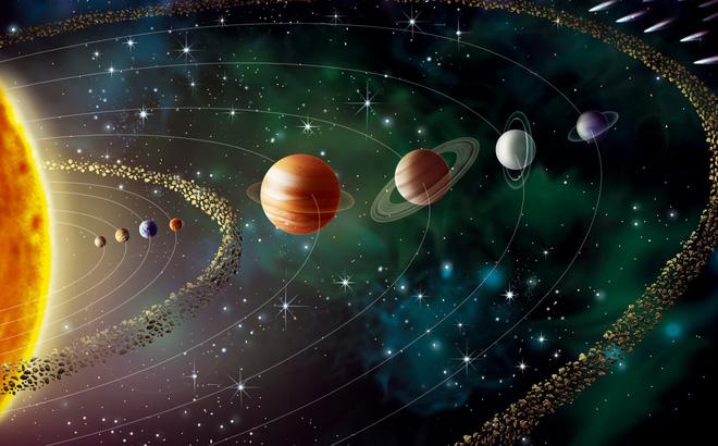 khoảng cách trái đất đến mặt trời