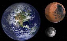 Khoảng cách sao hỏa với trái đất rất xa